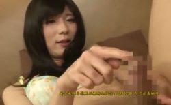 可愛い男の娘がケツマンコを指で穿られながら手コキでイキまくる 画像