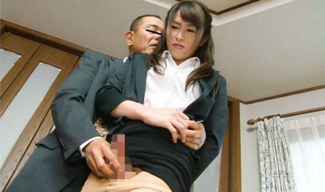 九条あすか ニューハーフの美人OLが上司に襲われ尻穴レイプされる動画