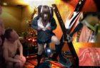 制服コスプレ男の娘が2穴犯されてる風の調教アナニーwww 画像