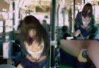 制服コスプレした男の娘がファッキングマシンを使ってバス車内で犯されてる風アナニーwww 画像