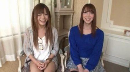 大島薫&ゆきのあかり ニューハーフと男の娘が素人娘をナンパしてレズセックスしちゃうwww 画像